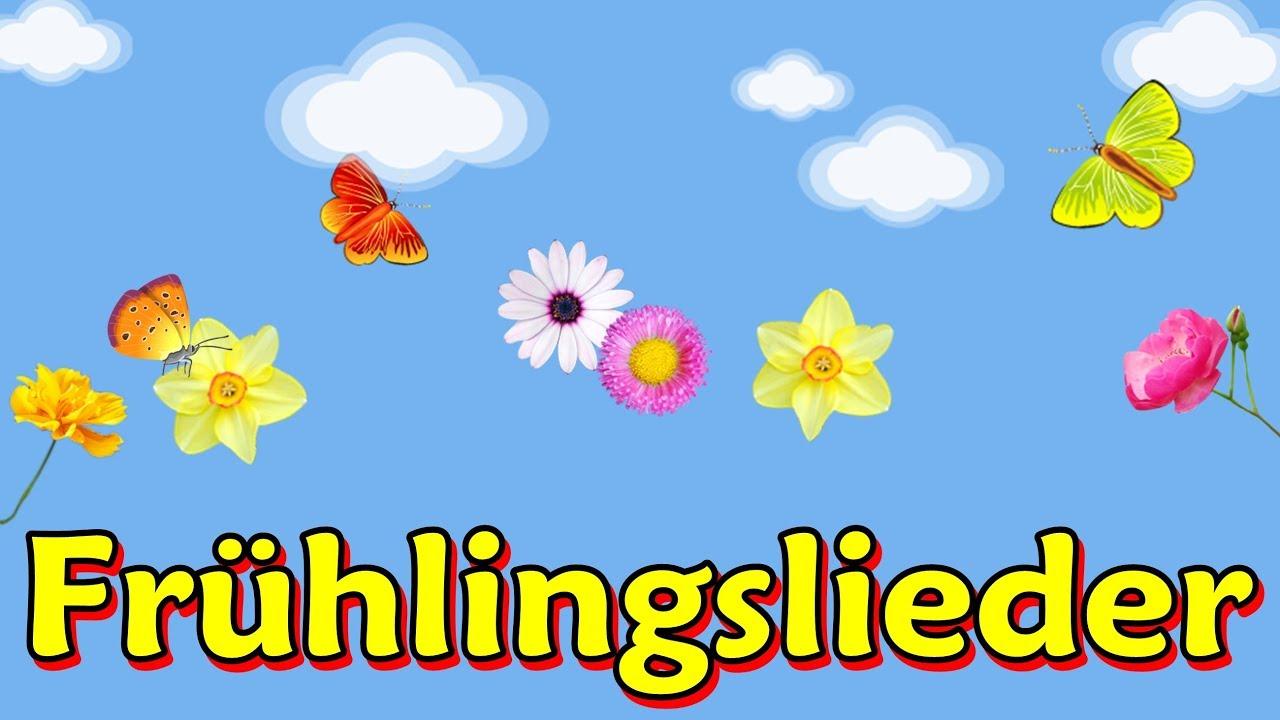 Frühlingslieder Kinder Zum Mitsingen Schöner Kinderlieder Mix über