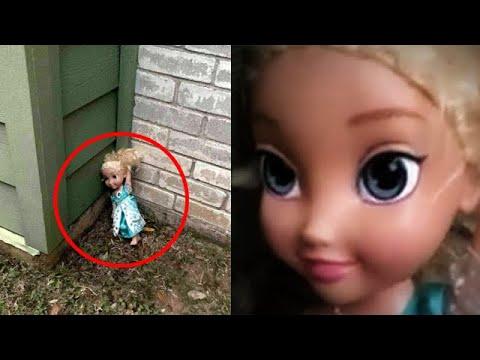 Странная кукла напугала семью до чёртиков: они хотят избавиться от нее, но не могут!