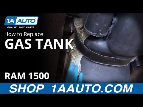 How to Replace 26 gal Gas Tank 02-08 Dodge Ram 1500