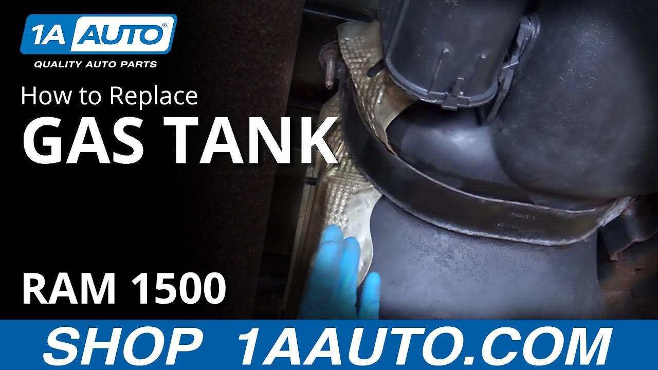 How to Remove and Reinstall 26 gal Gas Tank 2008 Dodge Ram 1500 BUY QUALITY AUTO PARTS AT 1AAUTO