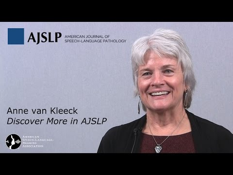 Distinguishing Between Casual Talk and Academic Talk - with Anne van Kleeck