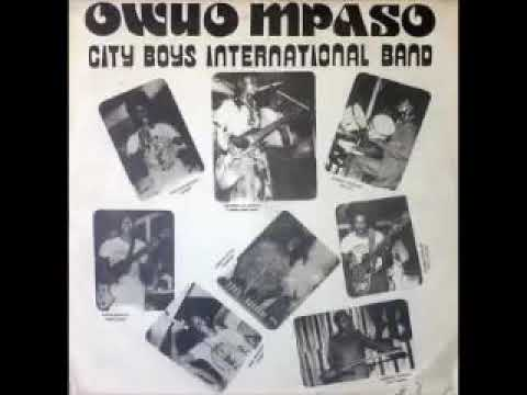 City Boys International Band ‎– Owuo Mpaso : 70's GHANA Highlife Folk Old Music FULL Album Songs LP