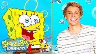 Who's Jace Norman's favorite SpongeBob character and what impression can he do?! Find out as all-star celebs talk about their all-time favorite sea creatures in ...