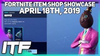 Fortnite Item Shop *NEW* HOPPER SKIN AND WRAP! [April 18th, 2019] (Fortnite Battle Royale)