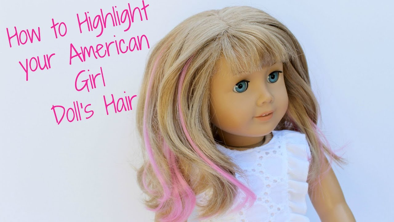 Diy american girl doll hair highlights youtube diy american girl doll hair highlights pmusecretfo Image collections