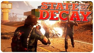 Happy New Zombie Years! ( ͡° ͜ʖ ͡°)   State of Decay Gameplay #13 (Mods)