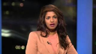 "M.I.A. talks about her music video ""Borders"" on Al Jazeera"