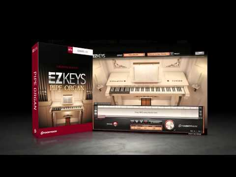 EZkeys Pipe Organ - Walkthrough