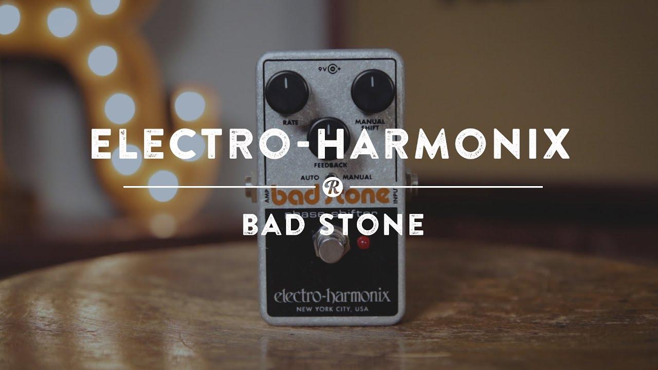 electro harmonix bad stone phase shifter reverb demo video youtube. Black Bedroom Furniture Sets. Home Design Ideas