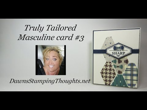 Truly Tailored Masculine card #3
