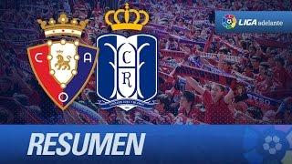 Resumen de Osasuna (2-0) Recreativo de Huelva