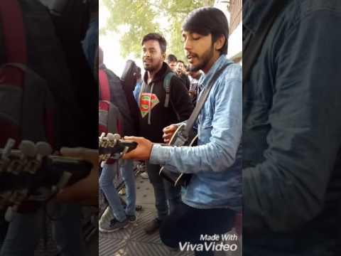 Gulabi Aankhe Indian Idol Delhi befor Audition ..