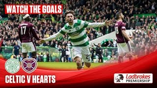 Goals! Celtic come from behind to humble Hearts