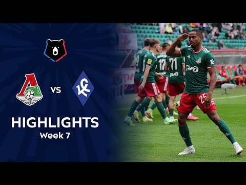 Lokomotiv Moscow Krylya Sovetov Samara Goals And Highlights