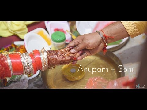 Anupam & Soni | Hindu Wedding Highlight Video | Framed Figments