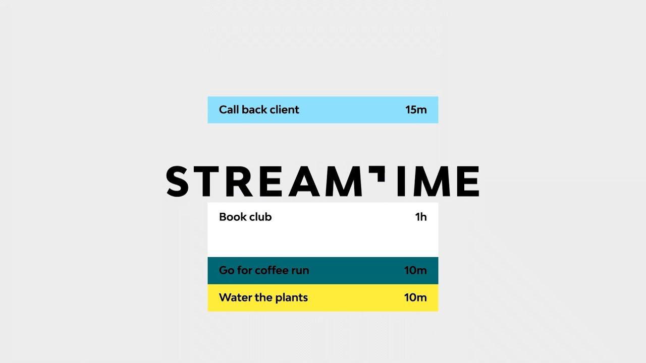 Download What's Streamtime?