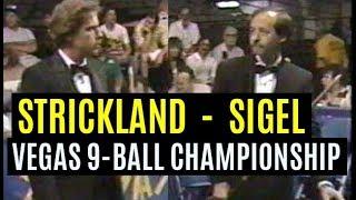 Strickland age 27 vs Sigel age 34. World title final