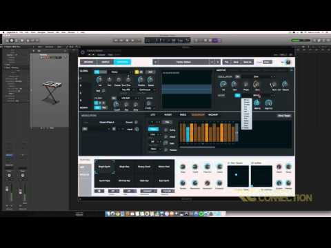 Recording Connection - Alchemy Synth in Logic Pro X