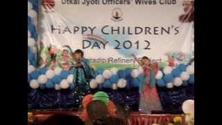 Preeta Puhan ( Mamlu ) dance on song Radha , Student of the Year movie