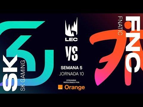 SK GAMING vs FNATIC | LEC | Summer Split [2019] League of Legends