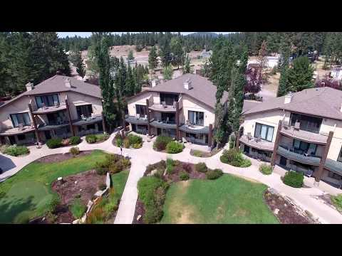 The Mountain Lake Lodge Hotel Drone Footage