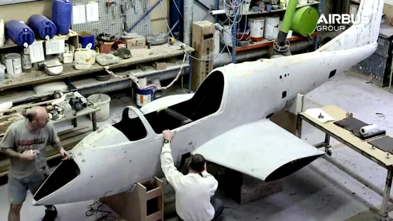 Airbus e fan electric aircraft youtube for Electric motor for aircraft