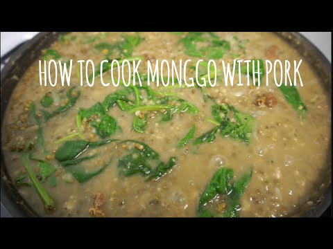 How to cook Monggo with Pork - Cooking Show