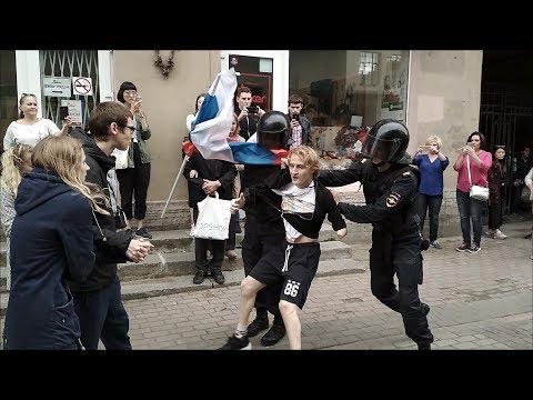 Смотреть 05 best!!! Митинг 09.09 Петербург против пенсионной реформы. онлайн