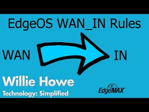 EdgeOS WAN IN Firewall Rules