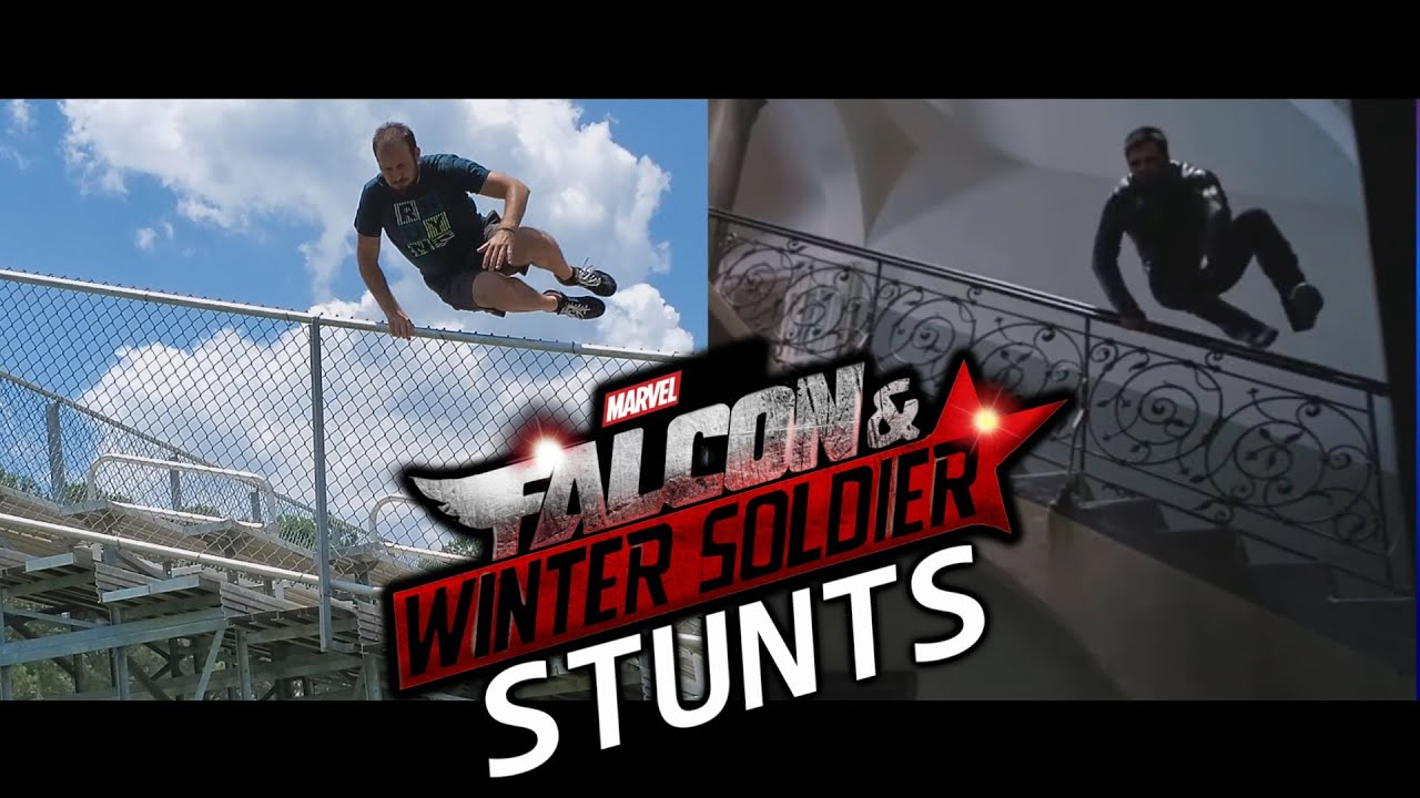 Stunt Man Recreates Stunts From Falcon And Winter Soldier