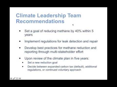 Webinar: Managing methane emissions from B.C.'s gas sector