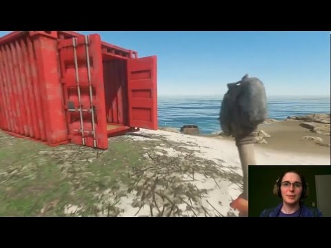 Stranded Deep 05: Shipping Container House, Finding a Better Island