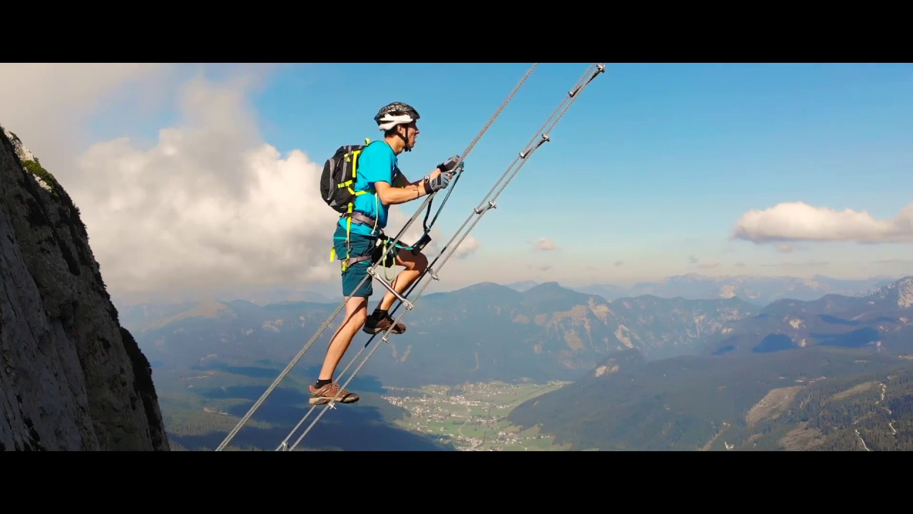 Klettersteig Donnerkogel : Donnerkogel intersport klettersteig youtube