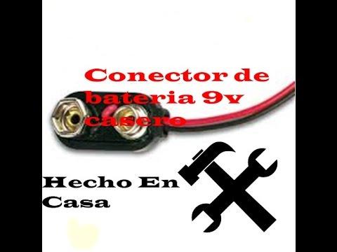 De CaseroSúper Como Fácil Bateria Hacer Conector 9v eW92IYEHD