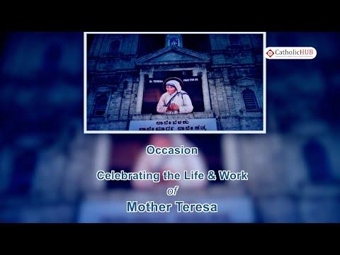 """Celebrating the Life & Work of Mother Teresa"" @ SFX,Bangalore,Karnataka,India,Part 1,11-09-16"