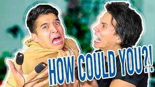 My Brother Is A LIAR! (LIE DETECTOR TEST)