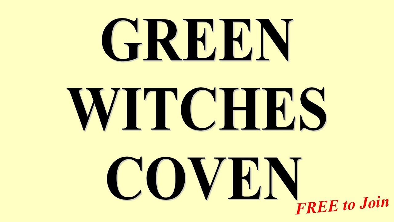 Join a Coven of Witches