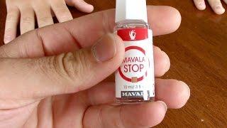 Mavala Stop taste test - Anti nail-biting thumb-sucking fingernail polish