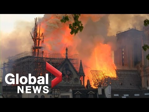 Notre Dame fire: Historic cathedral could be lost forever as flames continue to burn in Paris