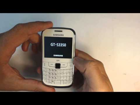 Samsung Ch@t 335 S3350 factory reset