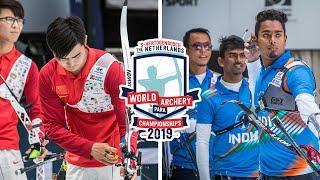 China v India – recurve men team gold | Den Bosch 2019 Hyundai World Championships