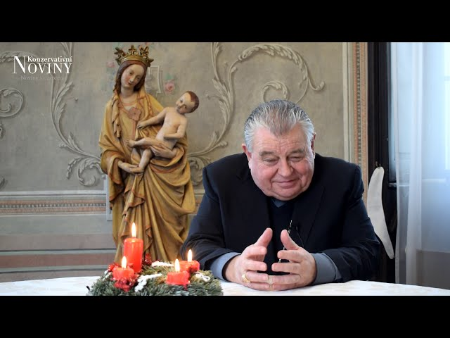 Vánoční přání Dominika kardinála Duky
