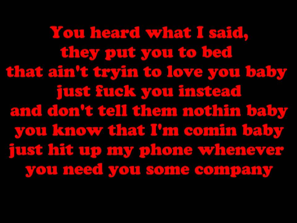 Lyric day n night lyrics : Drank In My Cup - Kirko Bangz Lyrics. - YouTube