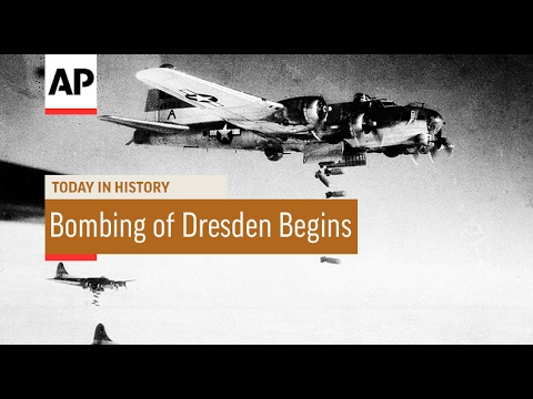 WWII: Allied Bombing of Dresden Begins - 1945 | Today In History | 13 Feb 17