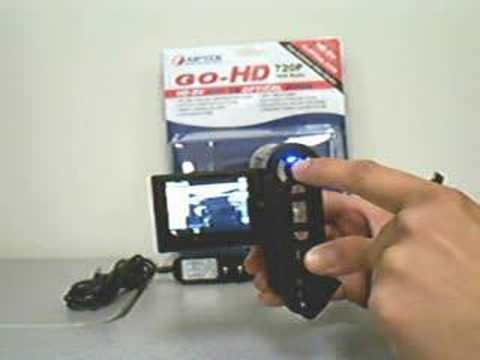AIPTEK GO-HD USB Power Charging
