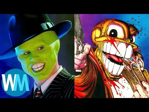 Top 10 Movies You Didn't Know Were Based on Comic Books