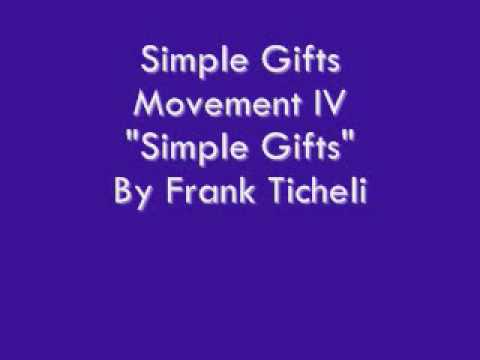 Simple Gifts: Movement 4 -