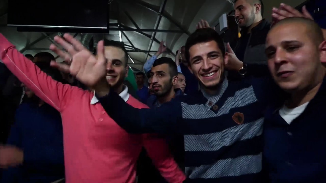 صهيب عمر أشرف ابو الليل دبكة يرغول 2017