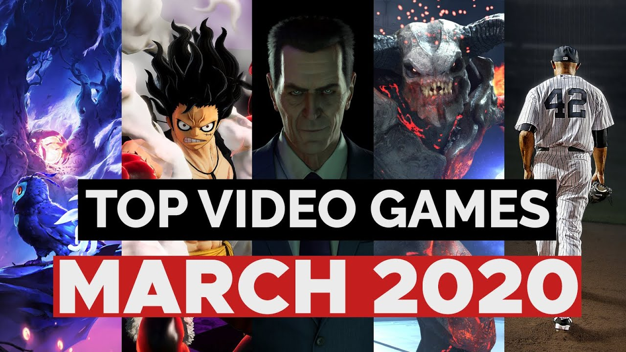 Top 10 NEW GAMES of March 2020 - YouTube