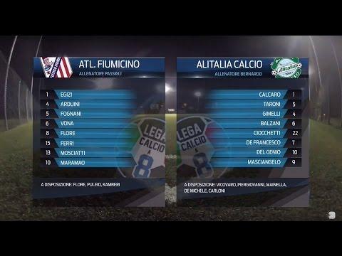 Atletico Fiumicino 3-3 Alitalia Calcio | Serie A - 3ª | Highlights